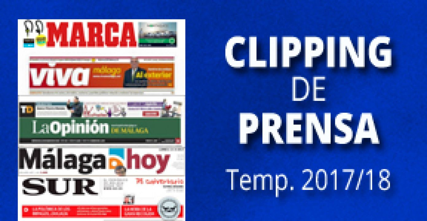 CLIPPING DE PRENSA. TEMP. 2017/18